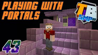 Playing with Portals! - Truly Bedrock S2E43