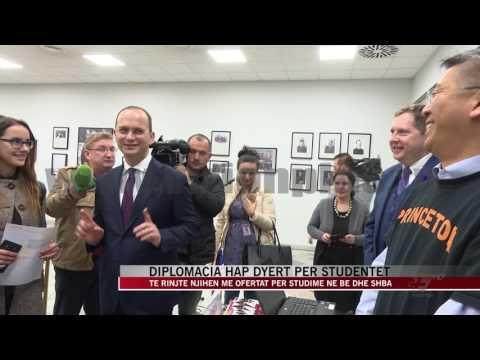 Diplomacia hap dyert për studentët e ekselencës - News, Lajme - Vizion Plus