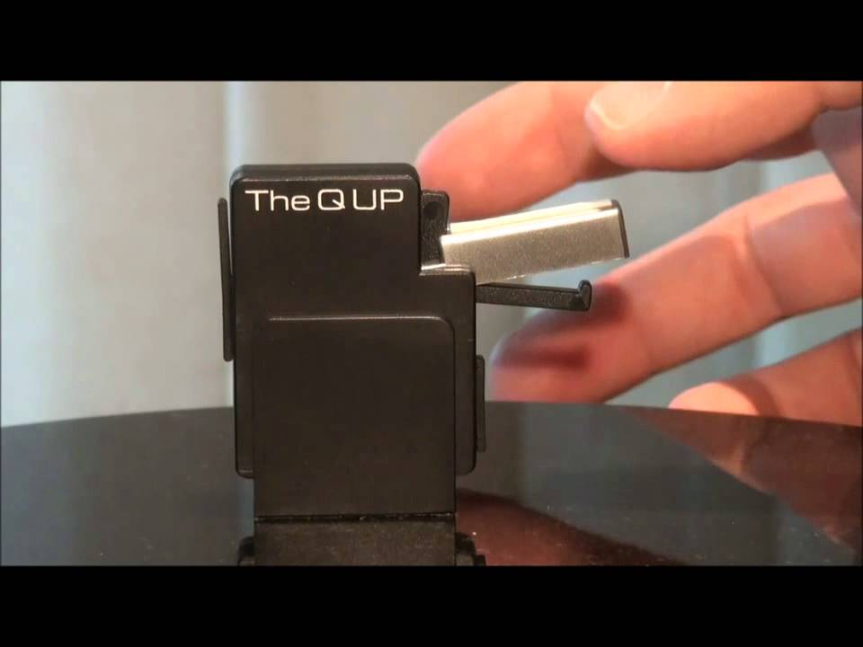 The Q UP Automatic Tonearm Lifter by 3345rpm.gr - YouTube