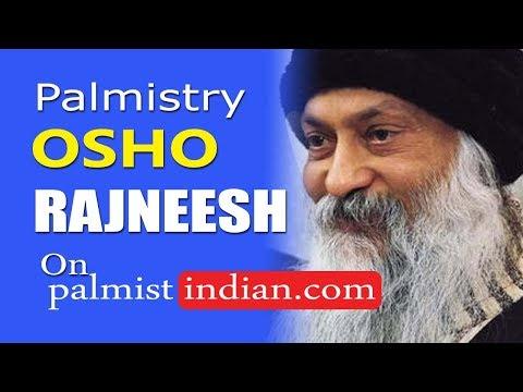 Guru Osho Rajneesh rich famous millionaire billionaire Intelligence Palmistry  Palm Reading