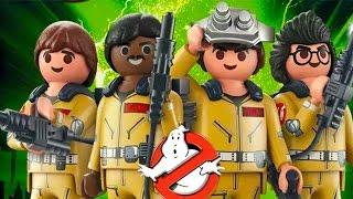 Охотники за Привидениями с Веселыми  Человечками Playmobil.Мультики для детей.PLAYMOBIL Ghostbusters