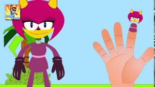 Finger Family Sonic Boom Finger Family   Finger Family Songs   Finger Family Parody