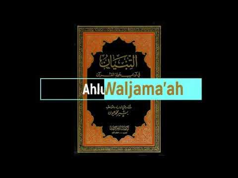 Casharkii31aad Ee Al Tibyaan Fii Aadaabi Xamalatil Quraan Fadiilatu Shiikh C.rasaaq Sh Axamed Yasin