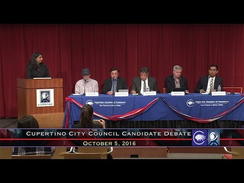 Cupertino Chamber of Commerce City Council Debate 2016