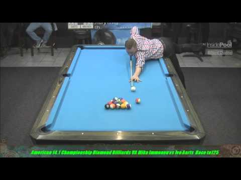 2015 American 14 1 Ivo Aarts VS  Mike Immonen