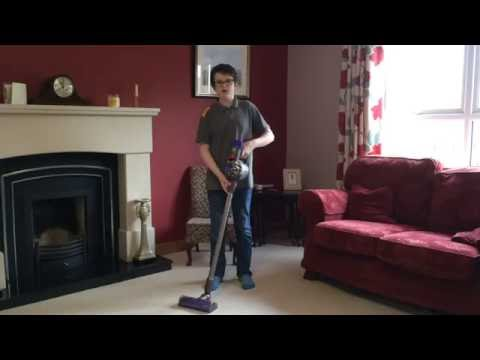 Dyson v8 Animal Review and Demonstration