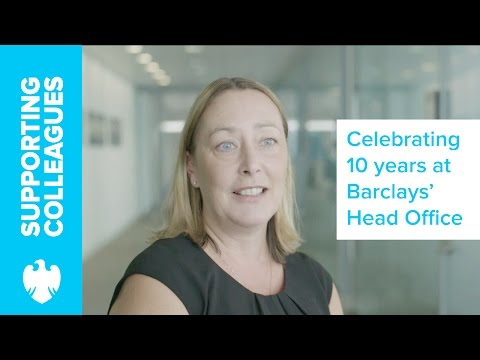 Celebrating 10 years at the Global Head Office in Canary Wharf | Barclays