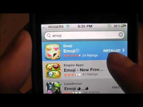 HowTo: Get Emotion icons on iPhone/ iPad/ iPod touch