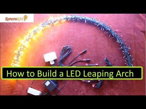 How To Build Leaping Light Arches For Your Christmas Di
