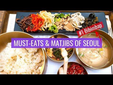 Must Eats & Matjibs of Seoul - Ultimate Foodies Guide to Korea