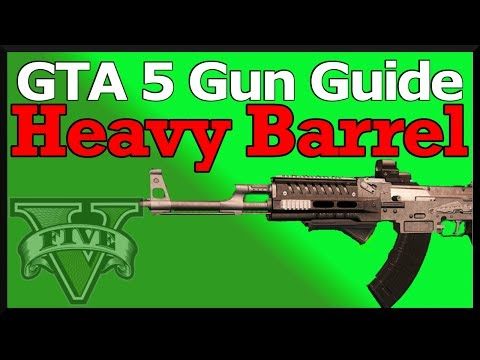 GTA 5 Gun Guide: Heavy Barrel (Best GTA Online Attachment!) Review, Stats, & How To Use