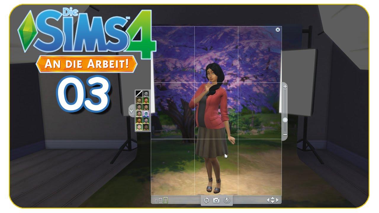 Fotografieren Im Fotostudio 03 Die Sims 4 An Die Arbeit Spezial