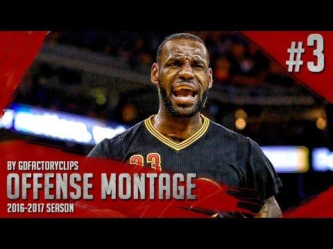 LeBron James Offense Highlights Montage 2015/2016 (Part 3) - MVP MODE!