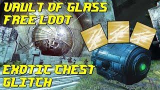 VAULT OF GLASS EXOTIC CHEST GLITCH & SOLO SPIRE GLITCH!! - Destiny (Age of Triumph)