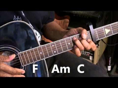 Tove Lo HABITS (Stay High) Easy Capo 5 Guitar Lesson Tutorial EricBlackmonMusicHD