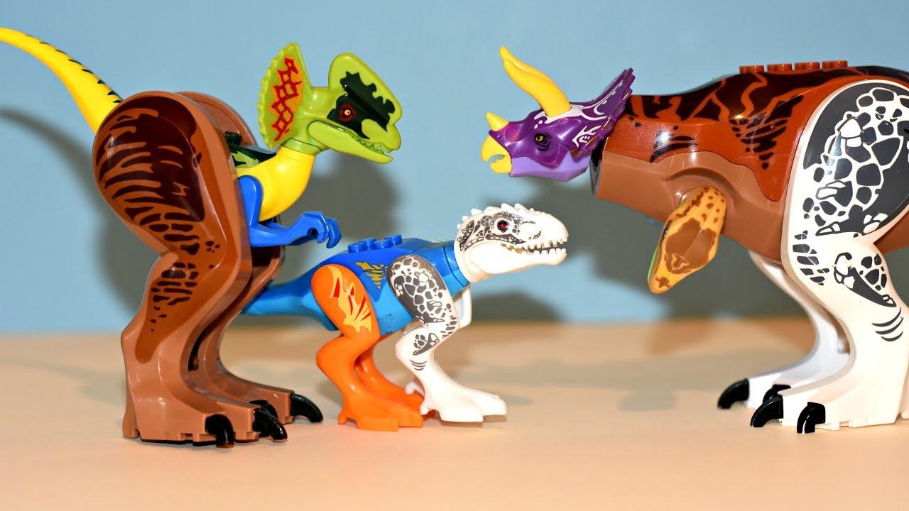 Hybrid Dinosaur Coloring Page