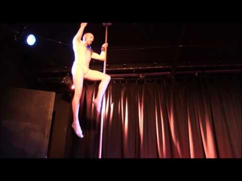 Miss Pole Queen NZ guest judge and performer- Douglas Seivers Jarrett