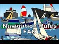 Navigation Rules FAQ