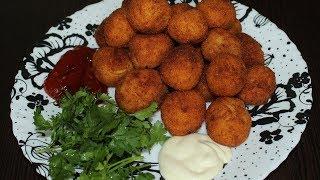 Хрустящая закуска за 5 минут/Картофельные шарики/Potato balls
