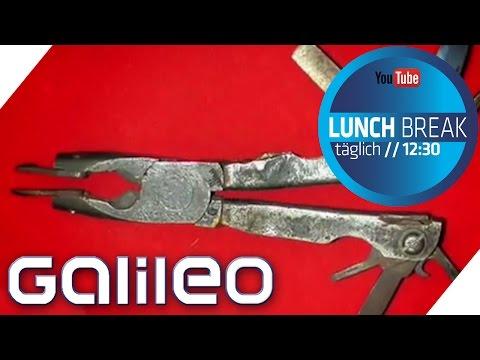 Das Multifunktions-Werkzeugarmband von Leatherman - Top oder Flop? | Galileo Lunch Break