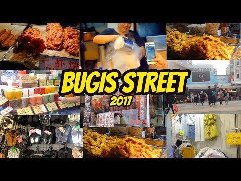 BUGIS STREET SINGAPORE | STREETFOOD 2017