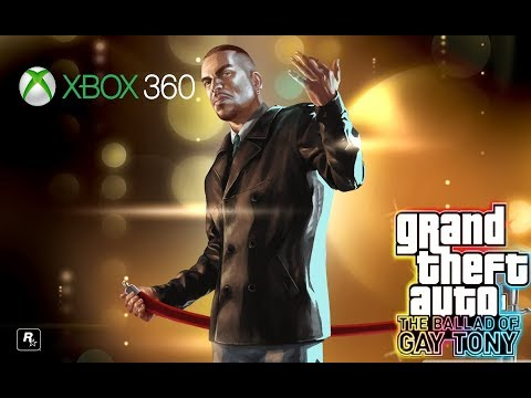 GTA: The Ballad Of Gay Tony (Xbox 360) Full Game {Live Stream} [No Commentary]