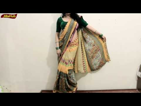 How To Wear Saree & Look More Curvy Like Super Models | Tall Look Saree Draping Method