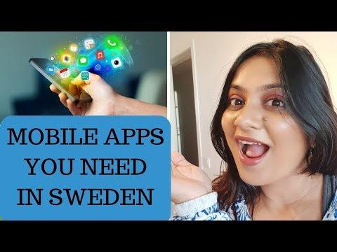 MOBILE APPS YOU NEED IN SWEDEN |स्वीडन में जरूरी मोबाइल ऍप्लिकेशन्स |SPARKLEWITHJYOTI