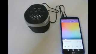 Patriot BeatStreet Bluetooth Speaker AUX