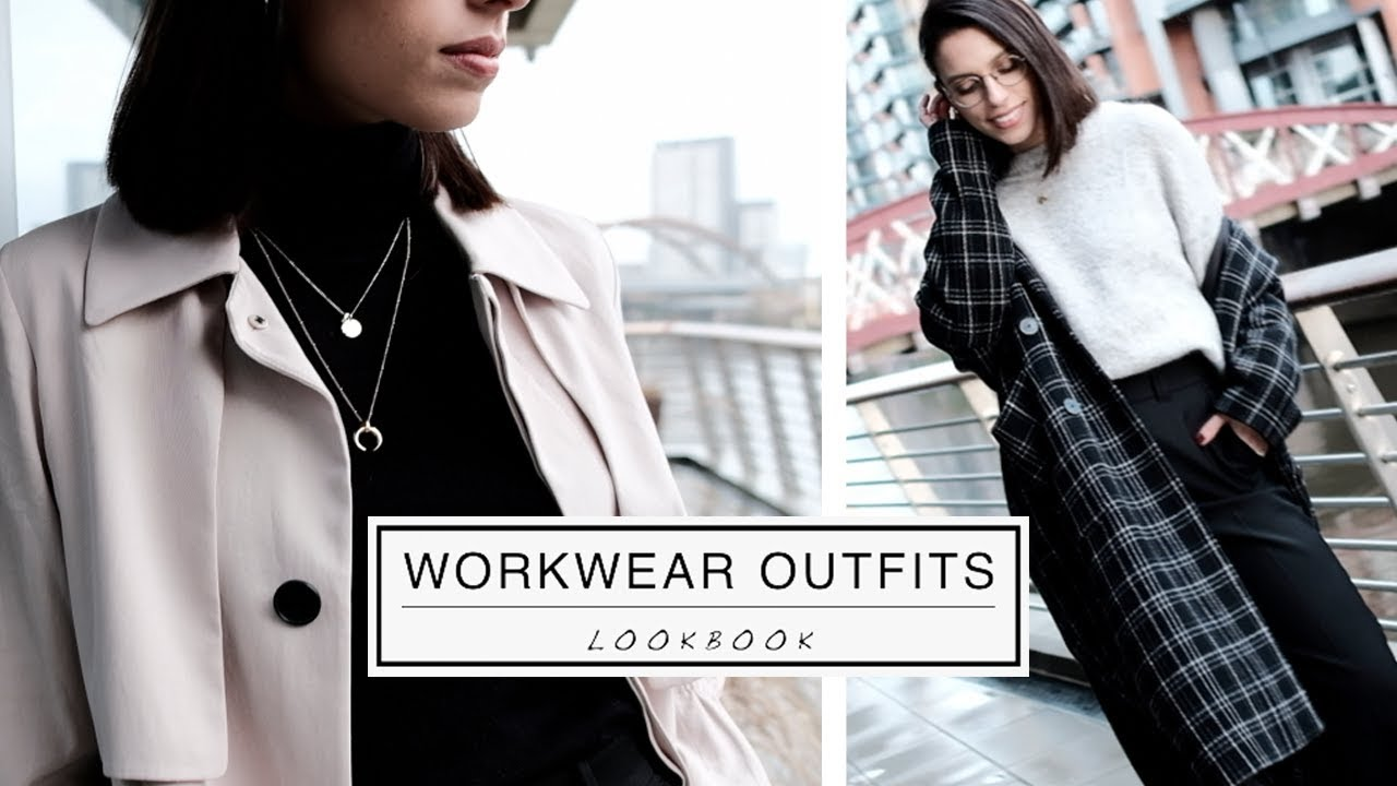 [VIDEO] - WORKWEAR OUTFIT IDEAS || Lookbook || How to Style Office Clothes 7