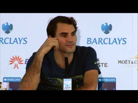 Interview: Roger Federer Loses to Rafael Nadal in London