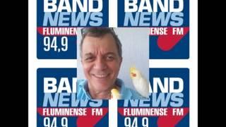 Deonísio da Silva,na Rádio BandNews FM, no SEM PAPAS NA LÍNGUA, com Pollyanna Brêtas e Leno Falk
