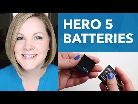 GoPro Hero 5 Black Batteries & Charging [4/30]