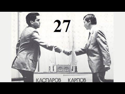 Karpov vs Kasparov - 1984 World Chess Championship Match - Game 27