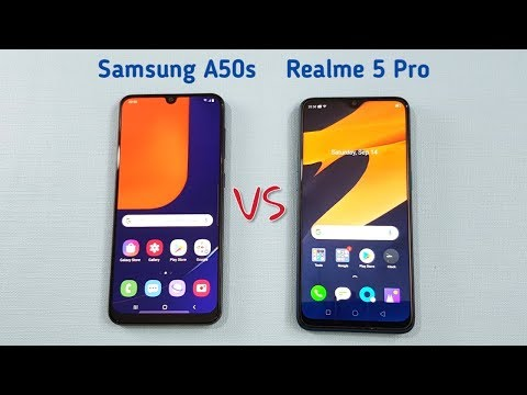 Samsung A50s vs Realme 5 Pro SpeedTest & Camera Comparison