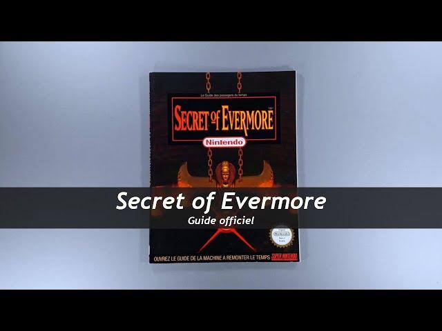Secret of Evermore - Guide officiel