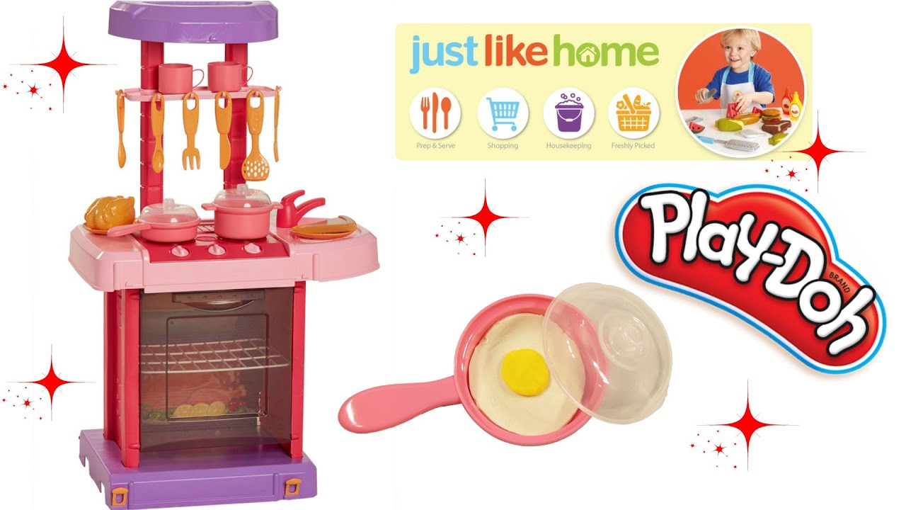 Just Like Home foldable kitchen play set play doh Як вдома грати DOH ...