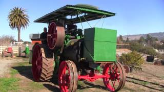 Restored 1913  Huber Steam Tractor--FIRST RUN