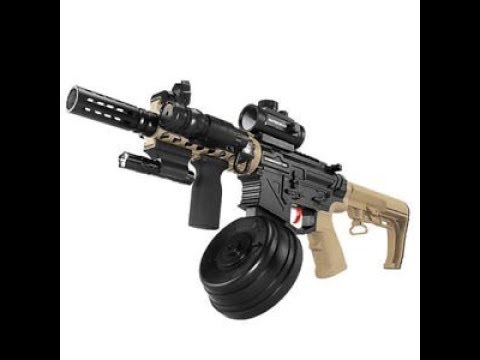 M4 Punisher preview by X-Force toy guns (Nerf) & Gel Blasters