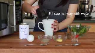 Cheesy Eggs Benedict - Microwave Recipe | Vittlewise