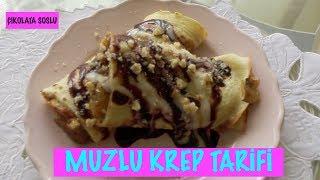 Muzlu Krep/Muzlu Pankek Tarifi/krep nasıl Yapılır
