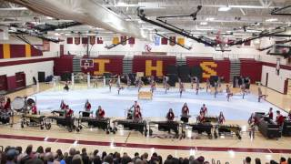 Irondale drumline send off show  April 15, 2017