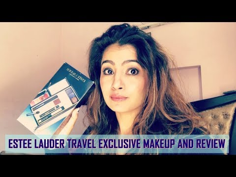 ESTEE LAUDER TRAVEL EXCLUSIVE MAKEUP AND REVIEW
