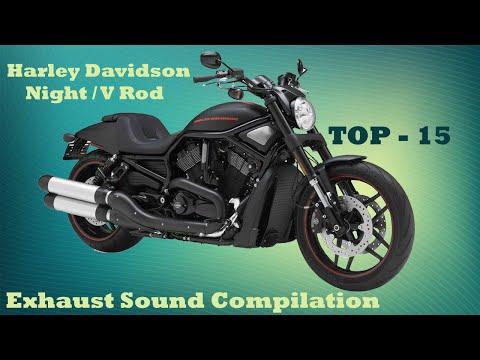 Harley Davidson Night / V Rod best exhaust sounds. Top 15