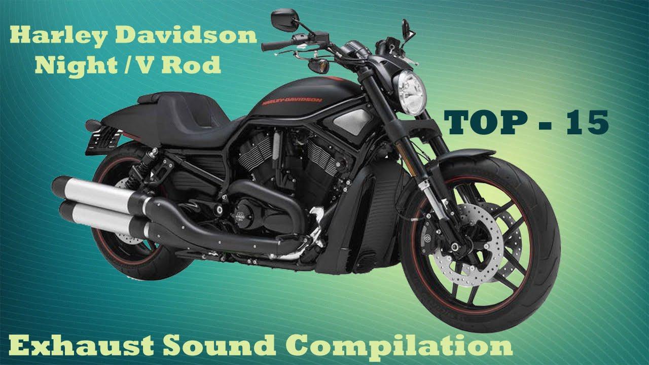 71059f8f1843 Harley Davidson Night   V Rod best exhaust sounds. Top 15 - YouTube