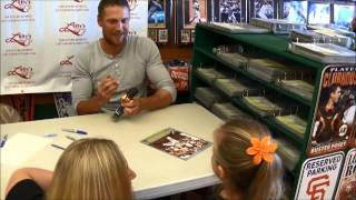 Hunter Pence Autograph Signing (2014)