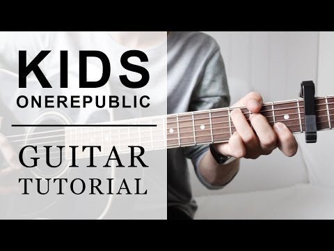 OneRepublic - Kids FAST Guitar Tutorial | EASY Chords