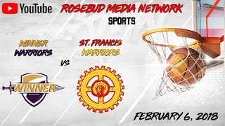 St. Francis Warriors VS Winner Warriors (Boys)