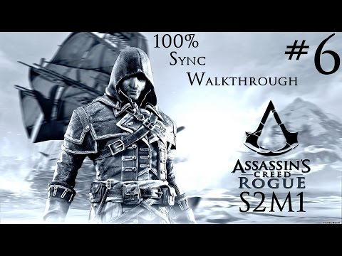 Assassin's Creed Rogue - 100% Sync Walkthrough - Part 6 - Sequence 2 Memory 1