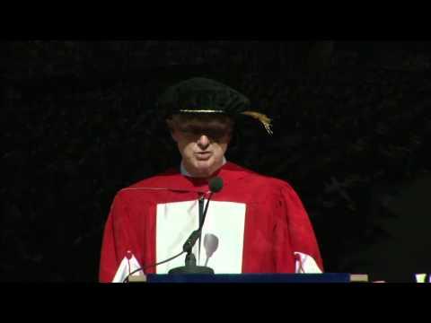 Paul Desmarais Jr., LLD - McGill 2012 Honorary Doctorate address